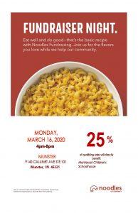 MCS Noodles Fundraiser