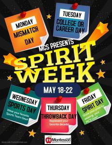 MCS Spirit Week